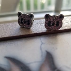 Panda earring